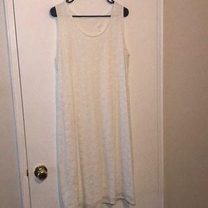White lace dress (L)
